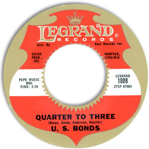 U S Bonds Dance Til Quarter To Three With U S Bonds