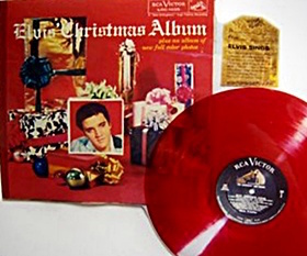 Elvis-Christmas-album-red-vinyl